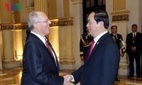 Hochrangiges Treffen zwischen Vietnam und Peru