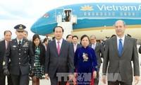 Staatspräsident Tran Dai Quang besucht Italien