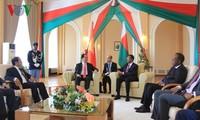 Staatspräsident Tran Dai Quang trifft Präsident Madagskars Hery Rajaonarimampianina
