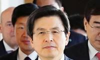 Südkorea: Interimistischer Präsident Hwang Kyo-ahn will Bürger beruhigen