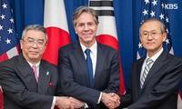 Südkorea, die USA und Japan erhöhen Druck auf Nordkorea