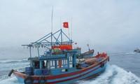 Fischer aus Zentralvietnam fahren nach Truong Sa