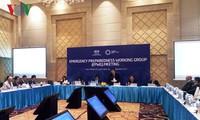 Sitzungen innerhalb der Konferenz der hochrangigen APEC-Beamten