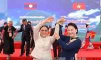 Laotische Parlamentspräsidentin Pany Yathotou beendet Vietnambesuch