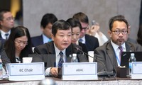 Mitglieder der APEC-Unternehmensberatungsrates tagen in Kanada