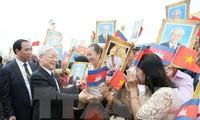 KPV-Generalsekretär Nguyen Phu Trong beendet seinen Besuch in Kambodscha