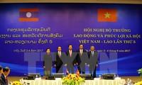Вьетнам и Лаос активизируют сотрудничество в сфере труда и социального обеспечения