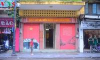 Der Platz, wo Präsident Ho Chi Minh die Unabhängigkeitserklärung für Vietnam schrieb