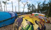 Das Kunstdorf in der Stadt Tam Ky in der Provinz Quang Nam