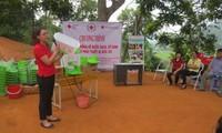 Aufklärung über Hygiene- und Sanitärmaßnahmen für Anwohner in Lang Son und Cao Bang