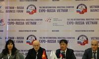 Industrielle Ausstellung zwischen Russland und Vietnam