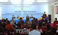 Pressekonferenz des Polizeiministeriums über Test des elektronischen Visum
