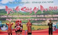 Kieng gio-Fest der Volksgruppe der Dao Thanh Phan in Quang Ninh