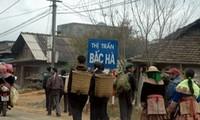ตลาดนัด BacHa ในช่วงใกล้วันตรุษเต๊ด