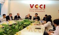 การเสวนาเกี่ยวกับการส่งเสริมความสัมพันธ์ด้านเศรษฐกิจการค้าเวียดนาม-สหรัฐ