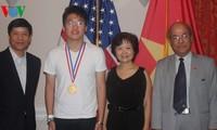 ชมเชยผลสำเร็จของคณะนักเรียนเวียดนามที่เข้าร่วมการแข่งขันเคมีโอลิมปิกครั้งที่ 44
