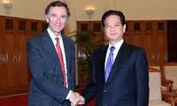 ผลักดันความสัมพันธ์ร่วมมือด้านการค้าและการลงทุนเวียดนาม-อังกฤษ