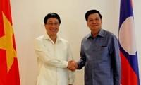 การเจรจาระหว่างกระทรวงการต่างประเทศเวียดนาม-ลาว