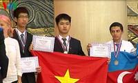 นักเรียนเวียดนามได้เหรียญทองในการแข่งขันเคมีโอลิมปิกระหว่างประเทศ