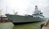 เรือของกองทัพอังกฤษเสร็จสิ้นการเยือนนครดานัง