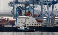 """ปานามาปล่อยเรือ """"โชงชนกัง"""" ของสาธารณรัฐประชาธิปไตยประชาชนเกาหลี"""
