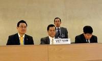 เวียดนามยืนยันคำมั่นที่เข้มแข็งเกี่ยวกับการให้ความเคารพสิทธิมนุษยชน