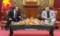รองประธานรัฐสภา หวิ่งหงอกเซิน ให้การต้อนรับกงศุลใหญ่กิตติมศักดิ์เวียดนามในเมืองปูซาน สาธารณรัฐเกาหลี