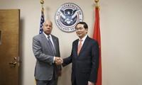 เวียดนามและสหรัฐขยายความร่วมมือด้านความมั่นคงและตุลาการ
