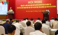 ผลักดันการศึกษาและปฏิบัติตามแบบอย่างคุณธรรมของประธานโฮจิมินห์ในพรรคสาขาของสำนักงานส่วนกลาง