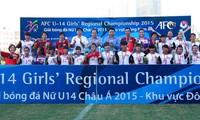 เวียดนามคว้าแชมป์ฟุตบอลหญิงยู 14 เอเชียปี 2015 ย่านเอเชียตะวันออกเฉียงใต้