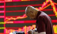 ตลาดหลักทรัพย์ของจีนดิ่งหนักปรับตัวลดลง
