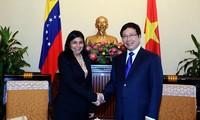 เวียดนามและเวเนซุเอลาขยายความร่วมมือในองค์การระหว่างประเทศ