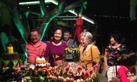 ความงามของงานลอยกระทงในกรุงฮานอย