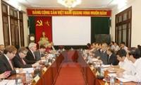 ประธานสหภาพแรงงานเวียดนามให้การต้อนรับคณะผู้แทนสภายุโรป