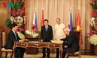 เวียดนาม-ฟิลิปปินส์สถาปนาความสัมพันธ์หุ้นส่วนยุทธศาสตร์