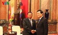 ประธานวุฒิสภากัมพูชาเสร็จสิ้นการเยือนเวียดนามอย่างเป็นทางการด้วยผลสำเร็จอย่างงดงาม