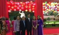 สมาคมชาวเวียดนามที่อาศัยในต่างประเทศสาขาจังหวัดสกลนครได้จัดงานฉลองปีใหม่