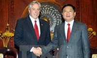 ผู้บริหารนครโฮจิมินห์ให้การต้อนรับที่ปรึกษาระดับสูงของรัฐมนตรีต่างประเทศสหรัฐ