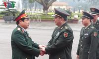 รัฐมนตรีว่าการกระทรวงกลาโหมจีนเยือนสันถวะไมตรีเวียดนามอย่างเป็นทางการ