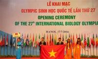 เปิดการแข่งขันชีววิทยาโอลิมปิกระหว่างประเทศครั้งที่ 27