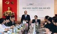 นายกรัฐมนตรีเหงียนซวนฟุก:มหาวิทยาลัยแห่งชาติฮานอยต้องเดินหน้าในการสร้างสรรค์ประเทศแห่งการสร้างฐานะ