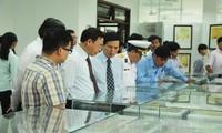งานนิทรรศการแผนที่และเอกสารเกี่ยวกับหว่างซาและเจื่องซาของเวียดนามในจังหวัดลองอาน