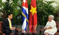 รองประธานสภาแห่งรัฐคิวบาแสดงความเชื่อมั่นว่า ความสัมพันธ์กับเวียดนามจะก้าวรุดหน้าไปอย่างยั่งยืน