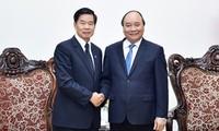 นายกรัฐมนตรีเวียดนามให้การต้อนรับเจ้าครองนครหลวงเวียงจันทน์และประธานกลุ่ม CapitalLand