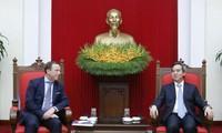 เวียดนามยินดีต้อนรับผู้ประกอบการยุโรปที่เข้ามาลงทุนในเวียดนามอยู่เสมอ