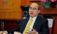 ประธานแนวร่วมปิตุภูมิเวียดนามส่งจดหมายอวยพรวันวิสาขบูชาปี 2017