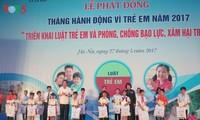 เปิดการรณรงค์เดือนปฏิบัติการเพื่อเด็กปี 2017