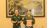 เวียดนามเพิ่มทหารอีก 3 นายไปปฏิบัติหน้าที่รักษาสันติภาพของสหประชาชาติ
