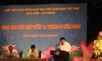 หน่วยงานสื่อสารมวลชนเดินพร้อมกับภารกิจการปฏิวัติของประชาชาติเวียดนาม