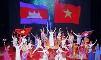 พิธีฉลองครบรอบ 50 ปีการสถาปนาความสัมพันธ์ทางการทูตเวียดนาม-กัมพูชา
